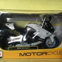 Maisto 1/12 Diecast Motorcycles BMW HP2 Sport