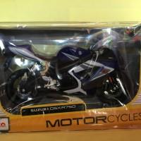 Maisto 1/12 Diecast Motorcycles Suzuki GSX-R750