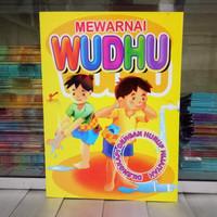 Buku mewarnai dan Belajar Wudhu