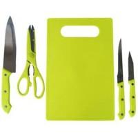 set pisau dapur+talenan