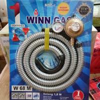 Paket Selang+Regulator Meter Winn Gass Murah!