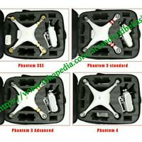 Tas Drone DJI Phantom 3 / Syma X8 / Bayangtoys x15/ x16 isi busa keras