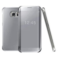 Flip Electroplate Clear View  Case Samsung S7 Edge