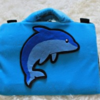 softcase/tas laptop,netbook,notebook lucu Dolphin/Lumba-Lumba