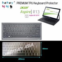Keyboard Protector for ACER Aspire R13 R7 371T KAKAY Premium TPU BES
