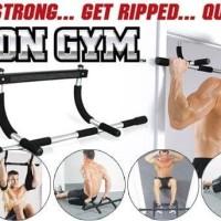 Iron Gym Alat Fitnes Pull Up Alat Olahraga Angkat Badan
