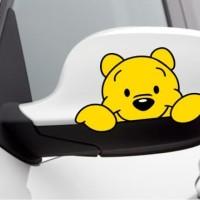 Stiker / Cutting Sticker Spion Winnie The Pooh