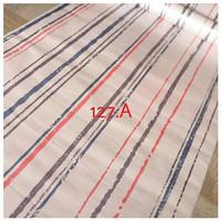 Garis kombinasi pink biru 45 cm x 10 mtr ~ Wallpaper dinding sticker