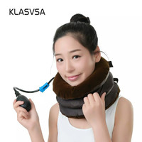Cervical Traction Neck Pillow Massager And Relaxation Relieve Fatigue