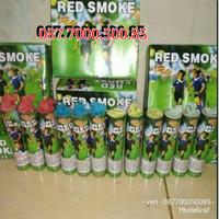 red smoke 60 detik / smoke bomb / flare / pyro asap / smoke warna