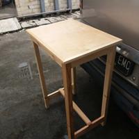 Meja jati Belanda/Meja Mini Tinggi/Mebel/Furniture/Meja Kayu