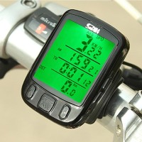 Speedometer Odomoter Sepeda/Cycle Computer Sunding SD 563B Waterproof