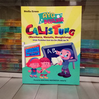 Buku Anak PAUD dan TK CALISTUNG, belajar Membaca, Menulis, Menghitung
