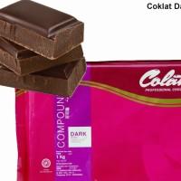 Coklat Batangan Colatta Dark 1Kg (Repack)