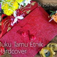 Buku Tamu Hardcover Etnik / Guest Book (JOGJA ETNIKA)