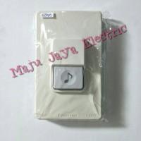 Knob Tombol Knop Bel Rumah Panasonic EGG 331 Saklar Bell Push Button