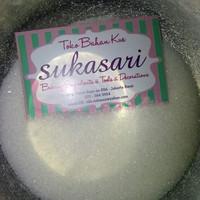 Gula pasir butiran halus putih 1kg. gula castor. Castor sugar.