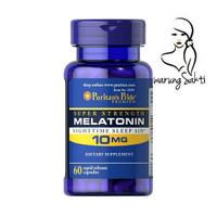 warungSakti - Puritans Pride Melatonin Night Sleep AID 10mg (60 Caps)V