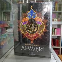 Alquran Al-Wahid indeks uk besar A4, Al-Quran Alwahid sinar baru indek