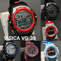 jam tangan anak digital sporty water resist visica skmei casio