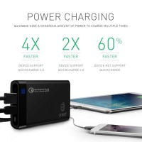 UNEED PowerBank 12000mah Qualcomm Quick Charge 3.0 Type C Black