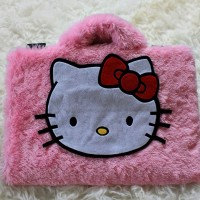 Hello Kitty Pink Lebat 10inch softcase/tas laptop netbook,notebook