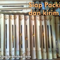 Bambu Undangan untuk Undangan Gulung Bambu