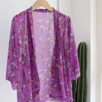 Cardigan Kimono - FIT TO XL