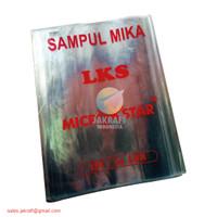 Plastik Sampul Mika Buku LKS Putih Bening Polos Transparan Tebal