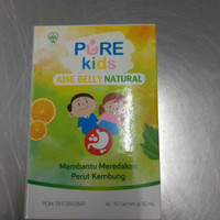 pure kids aise belly natural sachet