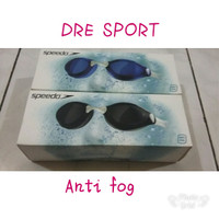 Kacamata renang Speedo AQUAPULSE antifog plus nose clip