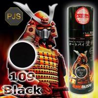 Cat Semprot Samurai Paint/Pylox Black/Hitam Kilap 109