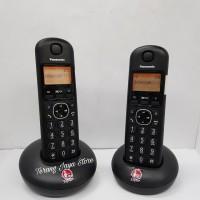 Telepon Wireless Panasonic KX-TGB212 (2 handset) Hitam KX-TGB 212