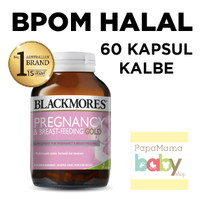 Blackmores Pregnancy and Breastfeeding Gold 60 Kapsul BPOM HALAL KALBE