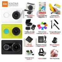 Promo Xiaomi Yi Action Kamera Paket Kumplit