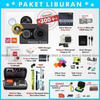 "Xiaomi Yi Cam Camera Black-Hitam"" Edition - Paket Lengkap Grs 3 bul"