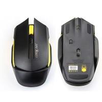 James Donkey 102 1600DPI 6D Wireless Optical Mouse Black
