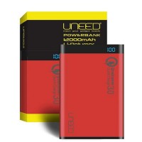 Uneed Powerbank 12.000mah Qualcomm Quick Charge 3.0 Red