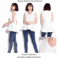 Simply Styled Peplum Blouse