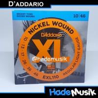 Senar Daddario EXL110 Nickel Wound Gitar Elektrik 10-46 (Original USA)