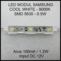 Led Modul Samsung 5630 Cool White 9000K 1.2W