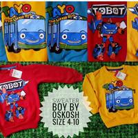 Sweater Anak Lucu Karakter Tayo