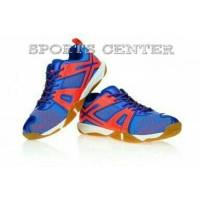 NEW !! Sepatu Badminton Lining OMEGA AYTM087 / AYTM 087 RBlue Orange