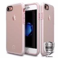 Patchworks iPhone 7 Anti Crack Anti Drop ORI LEVEL case-Pink/Clear