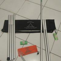 Tiang Flysheet Aluminum Kailash adventure 210cm (Baca Deskripsi)