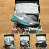 Sepatu Basket Nike Kobe ad grey blue