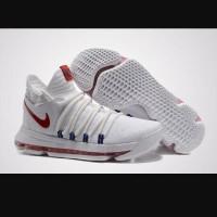 Sepatu basket Nike kd 10 white usa