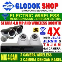 PAKET CCTV SUPER HD NVR 4 IP CAMERA TERMURAH IP KAMERA