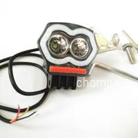 Lampu Sorot Tembak Motor Mobil Plus Charger U21 Eco9 Luminos