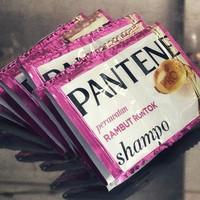 Shampo PANTENE Pink Perawatan Rambut Rontok - Sampo Pentin Pink Merah